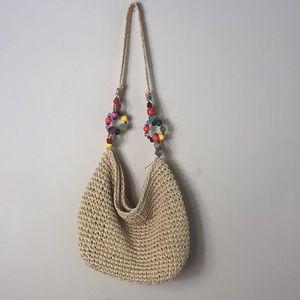 Cappelli Straworld Beautiful Straw Shoulder Bag